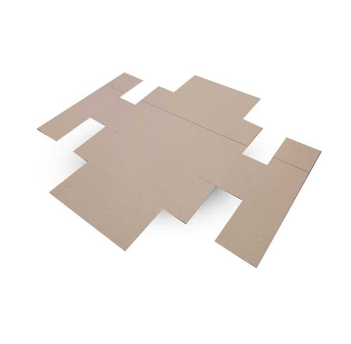 Krabice na míru F411S v rozloženém stavu