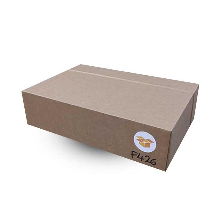 Krabice na míru F426 ve složeném stavu