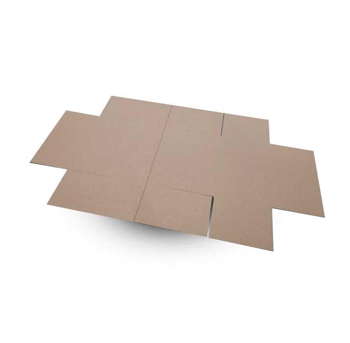 Krabice na míru F426 v rozloženém stavu