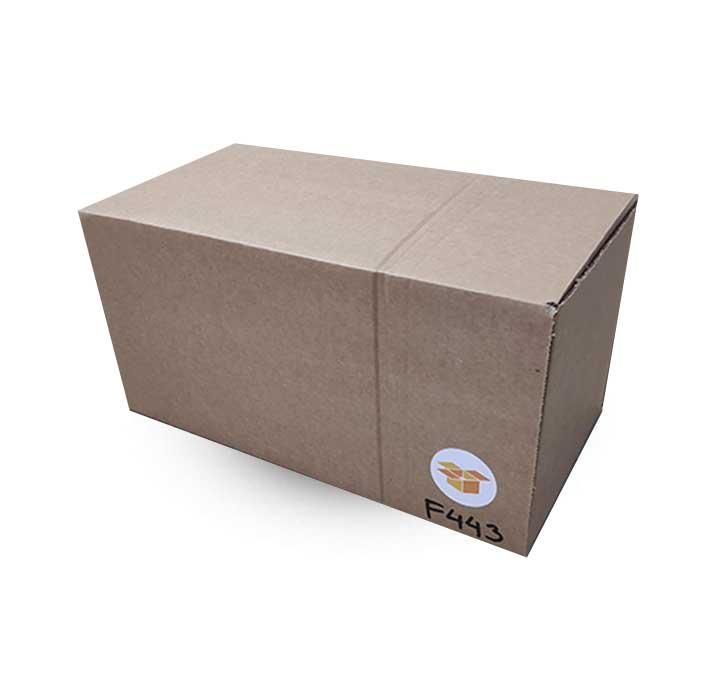 Krabice na míru F443 ve složeném stavu
