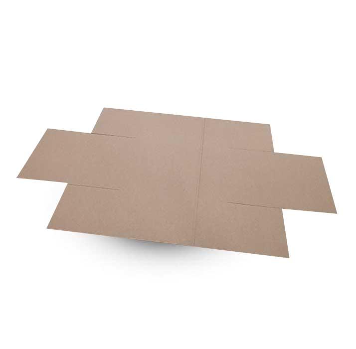 Krabice na míru F454 v rozloženém stavu