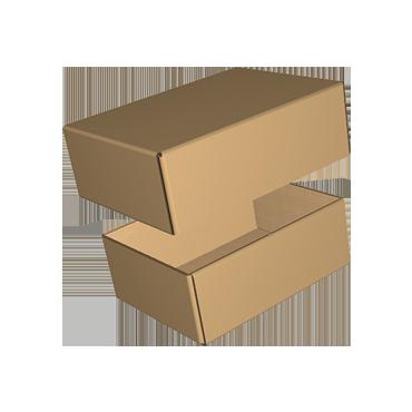 Krabice na míru F454 ve složeném stavu - víko a dno