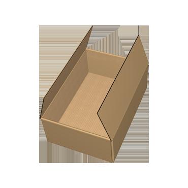 Krabice na míru F415 ve složeném stavu
