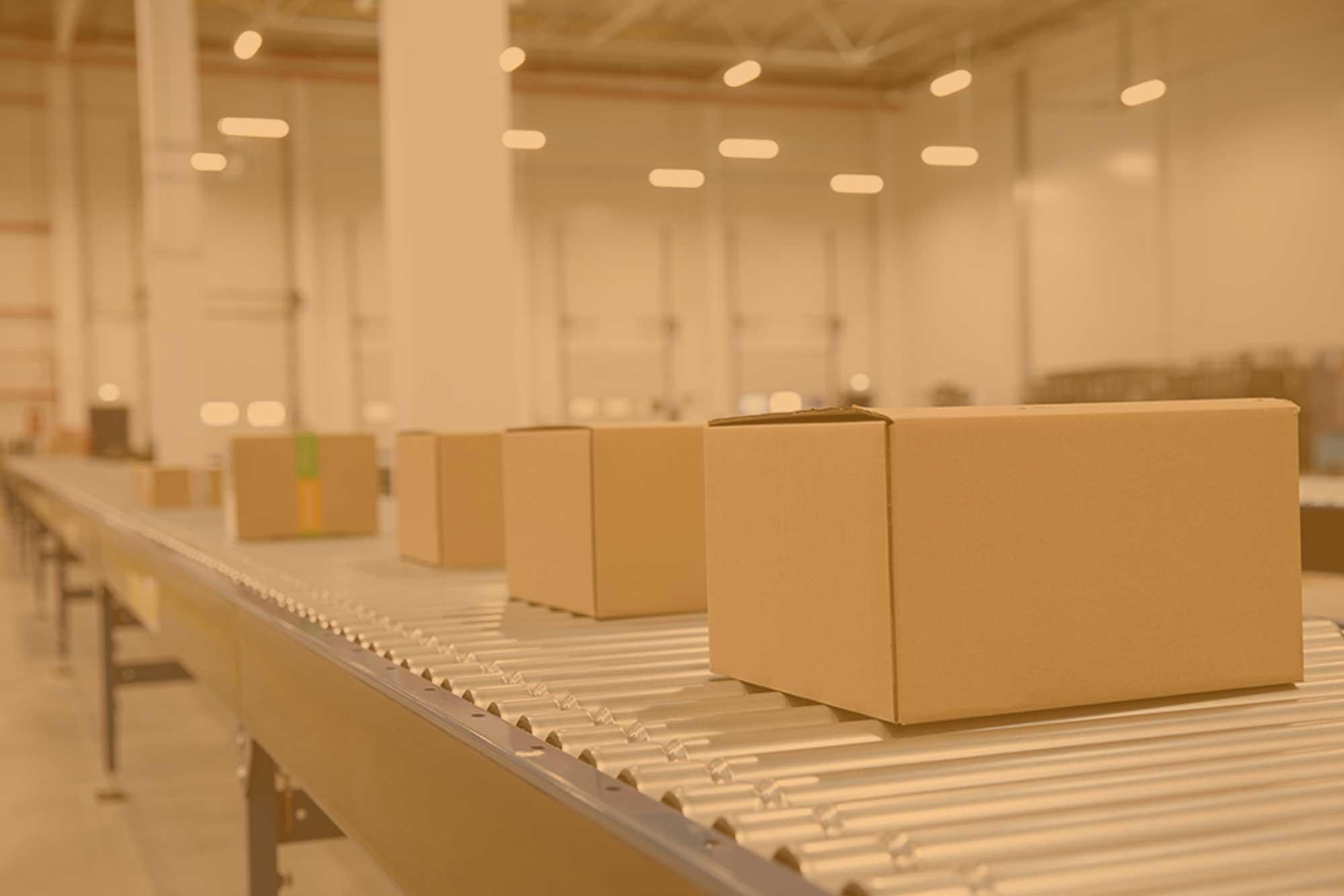 Krabice na míru ve skladu