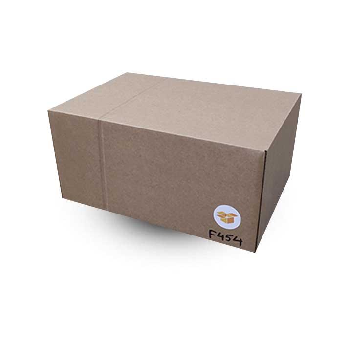 Krabice F454 ve složeném stavu