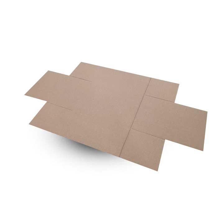 Krabice F454 v rozloženém stavu